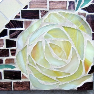 Secret Garden Mosaic Mirror
