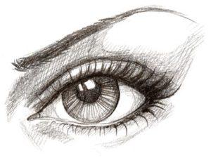 Kresba Portretu Podle Fotografie Moje Dilna